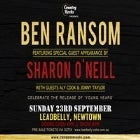 Ben Ransom & Special Guest Sharon O'Neill - 'Young Years' Single Release Party With Aly Cook & Jonny Taylor