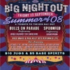 BIG NIGHT OUT – Celebrating the BDO and the Summer of '08