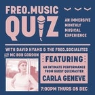 Freo.Music Quiz with Carla Geneve