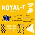 ONE PUF & THE LATE SHOW PRESENT ROYAL-T (BUTTERZ / UK)