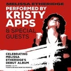 Kristy Apps and friends performs Melissa Etheridge Debut Longplay