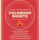 PALOMINO NIGHTS FINAL SHOW FOR 2019!
