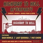 Highway To Hell Afterparty with Dan Howls, Last Quokka & Pat Chow