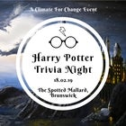 Harry Potter Trivia Night - A Climate for Change Event