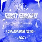 Plotz - Thirsty Thursdays at the Spotted Mallard with friends!