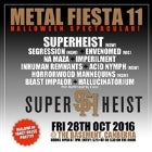 METAL FIESTA 11 - Featuring SUPERHEIST