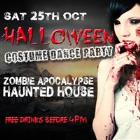 Zombie Apocalypse Halloween Haunted House and Music Event