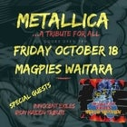 Metallica & Iron Maiden Tributes @ Magpies