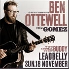 Ben Ottewell (Gomez) with Buddy