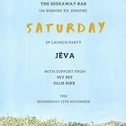 JËVA 'Saturday' EP Launch