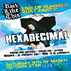 End of Summer BOAT PARTY feat... HEXADECIMAL (UK)