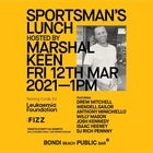 Sportsman's Lunch hosted by Marshal Keen Supporting the Leukaemia Foundation
