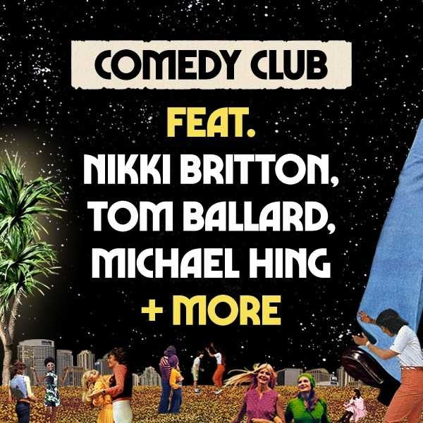 Comedy Club at Splendour in the City