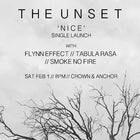 The Unset 'Nice' single launch