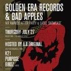 Golden Era Records & Bad Apples Air Awards Afterparty