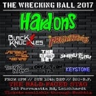 The Wrecking Ball 2017
