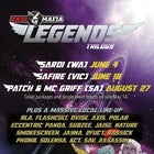 Bass Mafia ~ AUG 27 PATCH & MC GRIFF (SA) ~ Legends Trilogy series