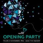 The WAM Festival Opening Party -