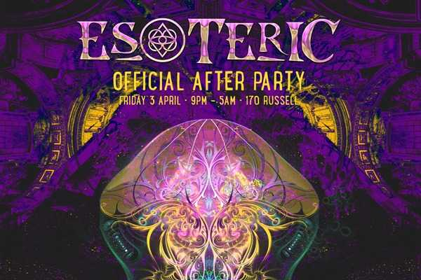 ESOTERIC 2020 Official After Party