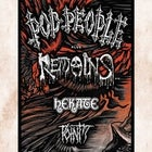 The Return of POD PEOPLE! + Remains and More @ Transit