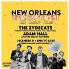 New Years Eve with Adam Hall & The Velvet Playboys, Lucky Oceans, and The Zydecats - NEW ORLEANS THEME