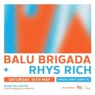 Balu Brigada and Rhys Rich with Aunty El
