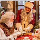 Santa joins Alice for a magical High Tea in Wonderland