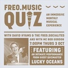 Freo.Music Quiz with Lucky Oceans
