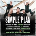 Simple Plan – Good Things Festival sideshow 2019 plus special guests