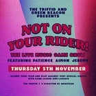 Not On Your Rider - November Edition