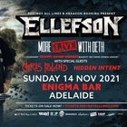 Ellefson More Live with Deth Australian Tour with special guests Chris Poland & Hidden Intent