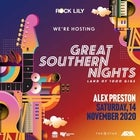 Alex Preston at Rock Lily - Great Southern Nights